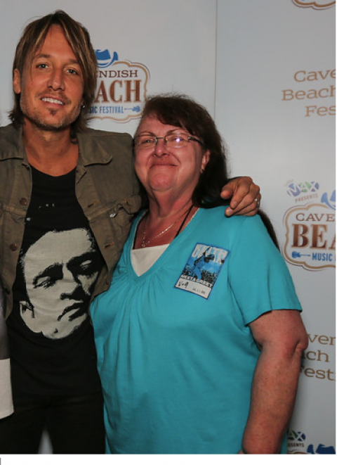 Cavendish beach music festival share your memories new country 969 best day ever at cavendish when i had a meet and greet with keith urban m4hsunfo